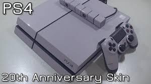 Ps4 Dualshock 4 20th Anniversary Skin Youtube