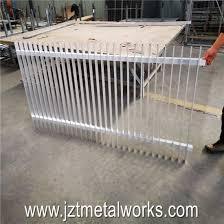China Aluminum Fence Horizontal Slat Bar Fencing Radiator Fence Panel China Fence Panel And Fencing Price