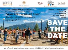 Estovest Festival - SAVE THE DATE: 22 maggio - XENIA CHAMBER MUSIC ...