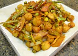 Ginger Scallop Stir-Fry with Leeks and ...