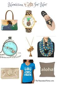 hawaiian style christmas gifts for her