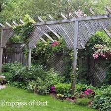 Privacy Screen Ideas And How To Make A Fence Taller Backyard Fences Privacy Landscaping Garden Privacy