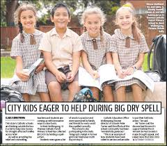 PressReader - The Daily Telegraph (Sydney): 2019-05-04 - CITY KIDS EAGER TO  HELP DURING BIG DRY SPELL