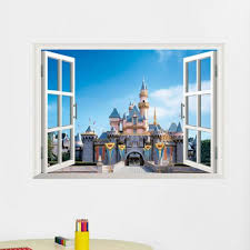 Wall Stickers Hatop 3d Window View Removable Wall Sticker Decal Decor Mural L Remarkable Product Diy Wall Decals Decal Wall Art Removable Wall Stickers