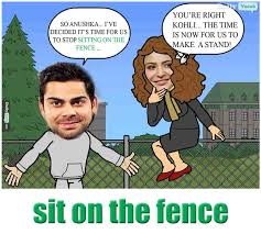 Sit On The Fence Meaning In Hindi With Picture Video Memory Trick
