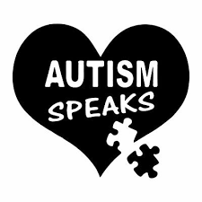 3 For 5 Autism Awareness Vinyl Heart Window Car Glass Sticker Easypeel No Marks