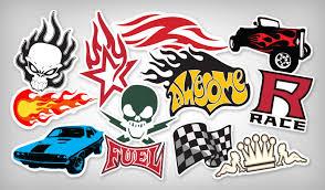 Custom Flame Racing Stickers Top Quality Stickeryou