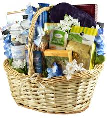 with deepest sympathy gift basket with