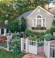 front yard garden love it cottage