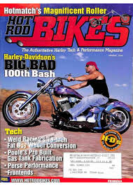 cover print of hot rod bikes january 2004