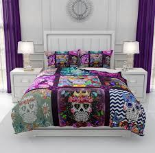 sugar skull bedding comforter duvet