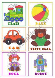 toys flashcards esl worksheet by je