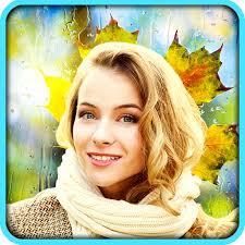 amazon com rain photo frames app