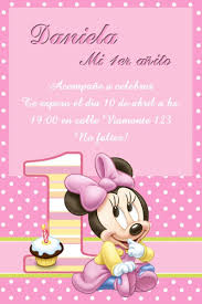 Kit Imprimible Minnie Mouse Bebe Tarjetas Cajitas Y Mas 26