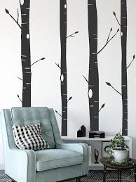 Aspen Trees Vinyl Wall Decal Etsy