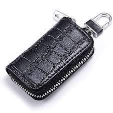 genuine leather key holder car key case