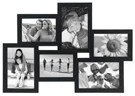 crossroads collage frame 4x6 black