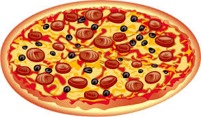 Pizza, dessin png, tube alimentation - Pizza drawing