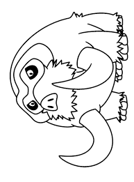 Pokemon Rowlet Kleurplaat