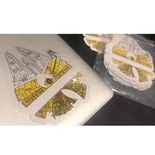 Wu Tang X Starwars Vinyl Sticker Pack Skimatik