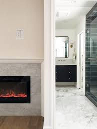 diy a built in electric fireplace