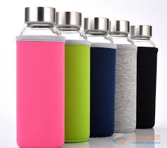hydrate leak proof glass water bottle