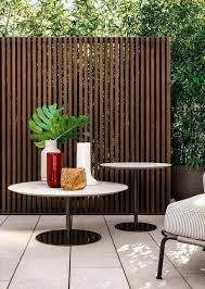 Outdoor Privacy Wall Skinny Boards Fence Vertical Slats Modern Contemporary Gard Privacy Fence Designs Garden Privacy Screen Fence Design