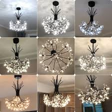 modern art deco led crystal hardware