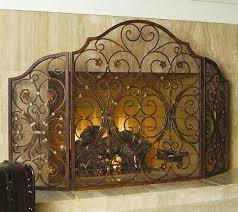 wide cast iron rustic victorian 3 panel