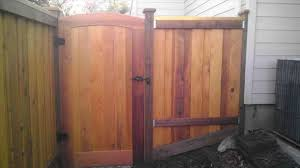 Arched Fence Gate Ornamental Black Arched Gate American Fence Fresh 8 Ft Side By Side With Triple Trim With A Fence Gate Wood Fence Gates Modern Fence Design