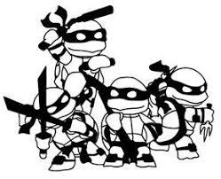 Teenage Mutant Ninja Turtles 14 Black Car Truck Vinyl Decal Art Wall Sticker Usa Vinyl Creations Cust Art Wall Kids Teenage Mutant Ninja Turtles Custom Decals