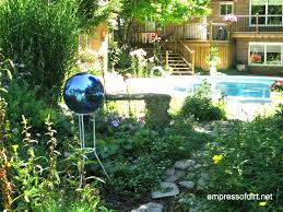 garden art ball idea gallery empress