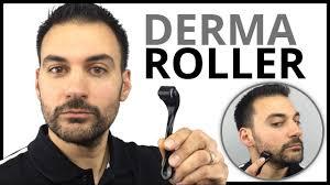 derma roller patchy beard growth