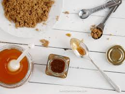 diy brown sugar honey scrub