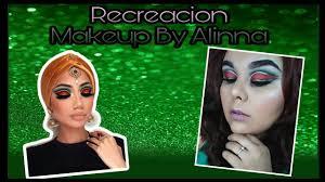 recreando maquillaje de makeup by