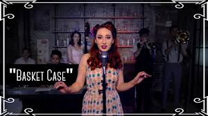 """Basket Case"""" (Green Day) 1950s Cover by Robyn Adele Anderson - YouTube"""