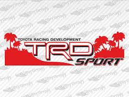 Toyota Trd Sport Beach Stickers Decals