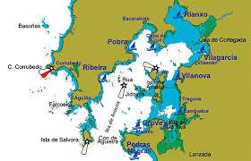 Resultado de imagen de Dunas de Corrubedo mapa