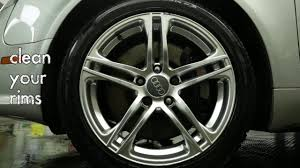 how to clean your rims homemade diy