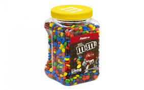 m m s milk chocolate candy 62 ounce jar
