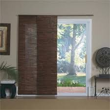sliding bamboo blinds for patio doors