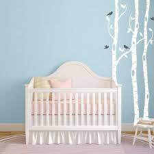 Birch Tree Wall Decals Nursery Wall Sticker Db353 Designedbeginnings