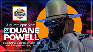 Chicago Summer Dance w/DJ Duane Powell: Friday, July 26th | Grant park,  Chicago summer, Duane