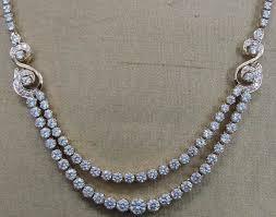 classic diamond necklace classic