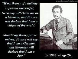 if my theory of relativity is proven succesful will claim