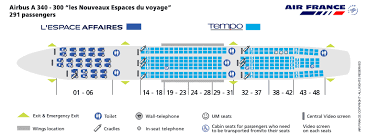 air france airlines aircraft seatmaps