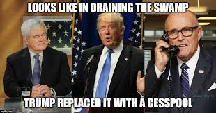 Trump Cabinet Picks From Draining the Swamp to creating a Cesspool
