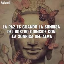 Hoy Aprend - La paz es cuando la sonrisa del rostro coincide con