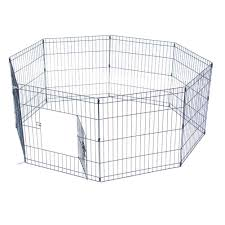 24 Tall Wire Fence Pet Dog Cat Folding Exercise Yard 8 Panel Metal Play Pen Diy Variable Shape Game Area For Dogs And Cats Houses Kennels Pens Aliexpress