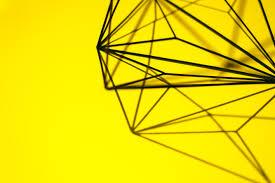 creative wing line geometric